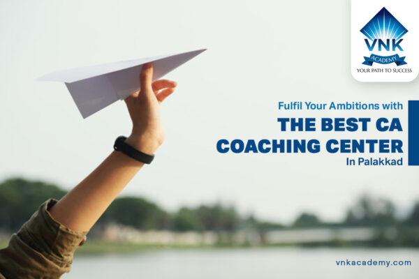 chartered accountant coaching centers in kerala