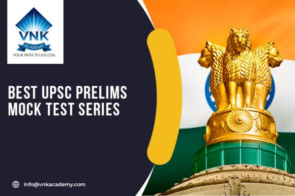 UPSC prelims mock test
